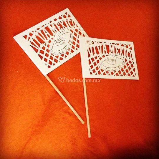 Banderas de papel picado