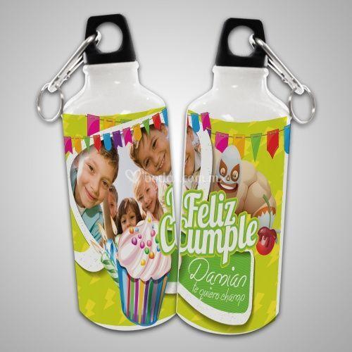 Botella de aluminio para agua