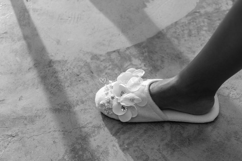 Pantuflas para novias