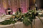 Flores mesa de honor