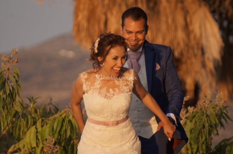 Cinthia y Jorge