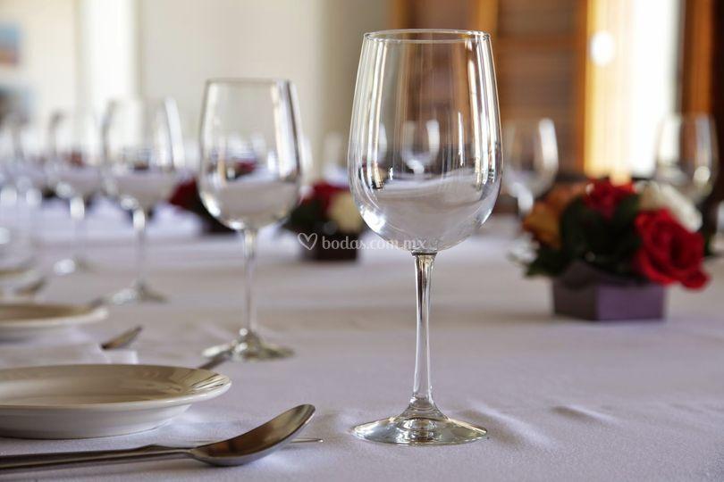 Copas de vinos