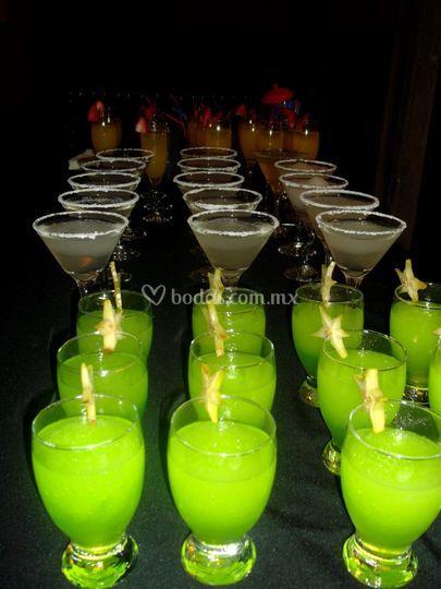 Margaritas, mimosas