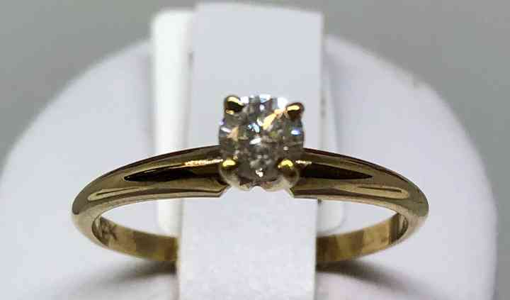 14k Diamante 27pts. MODI27