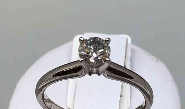 14k Diamante 26pts. JMOK26
