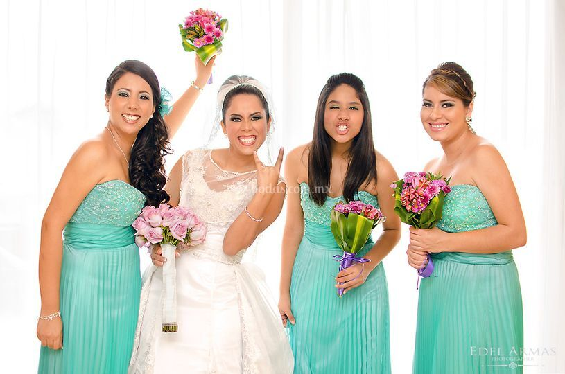 Sesión novia y Damas