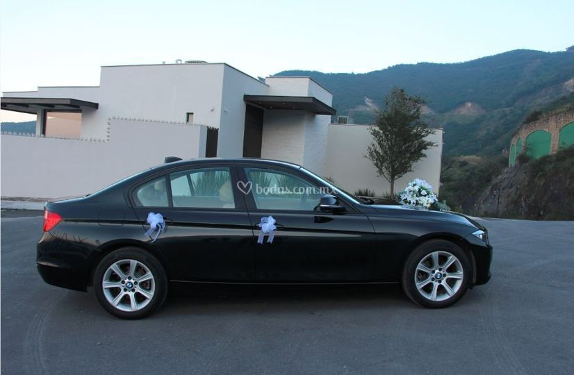 BMW Serie 3 Negro 2015