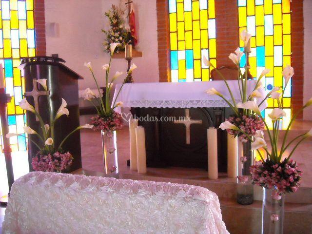 Originales arreglos iglesia