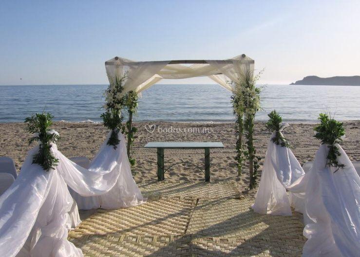 Ideal para bodas en playa
