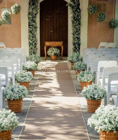 Arreglo floral ceremonial