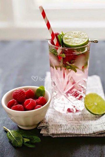 con fresas