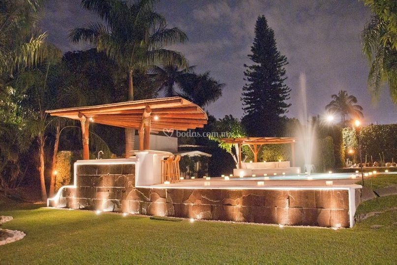 fuentes para terraza