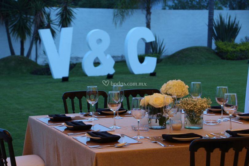 Montaje letras jard n de villa toscana foto 55 for Jardin villa ale aguascalientes