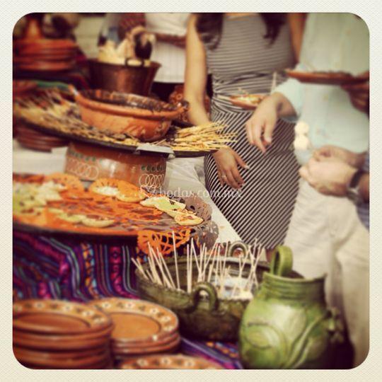 Buffete mexicano