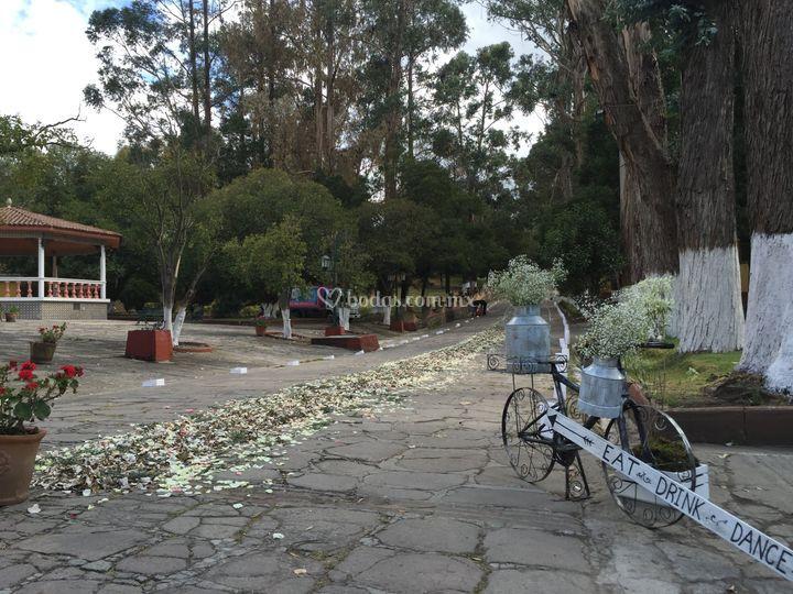Hacienda la pur sima for Jardin quinta corregidor