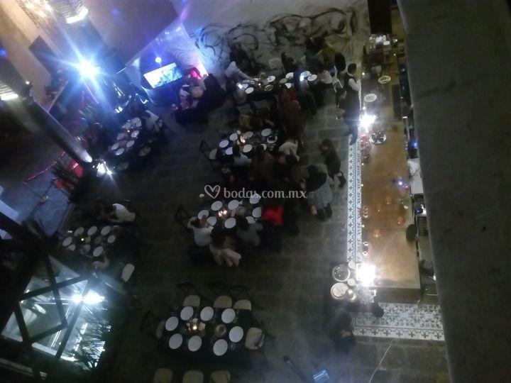 Evento cena el restaurante