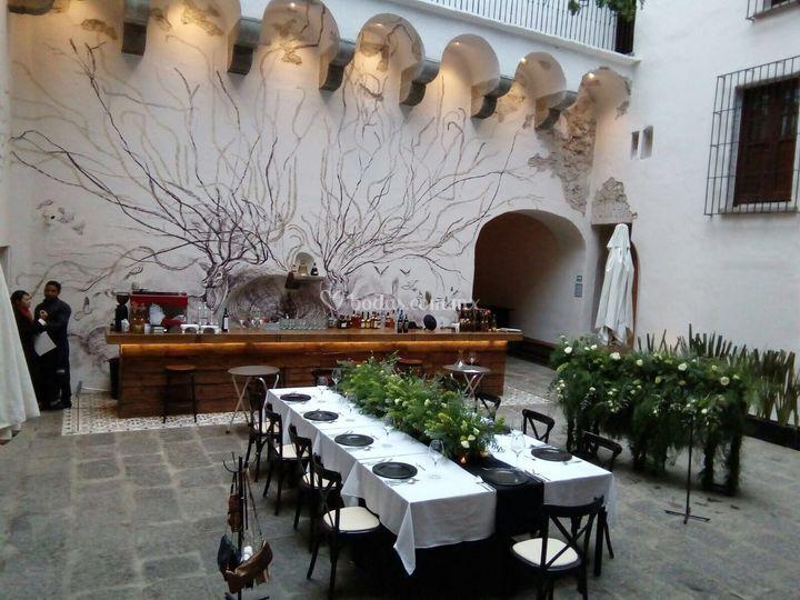 Boda en restaurant Los venados