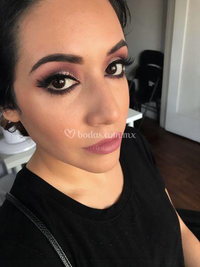Maquillaje de graduación