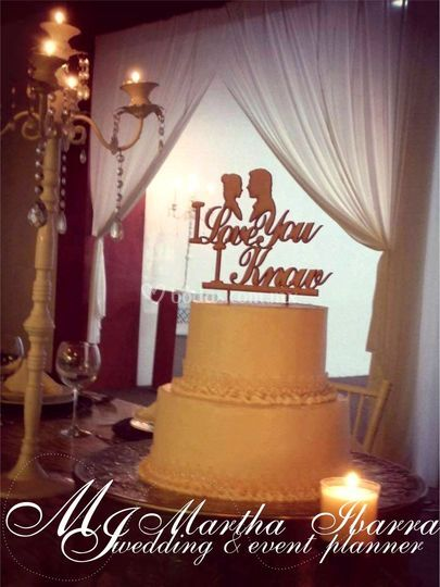 Cake topper star wars