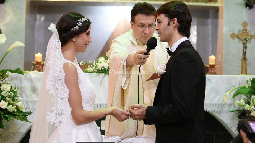 Momento de la ceremonia