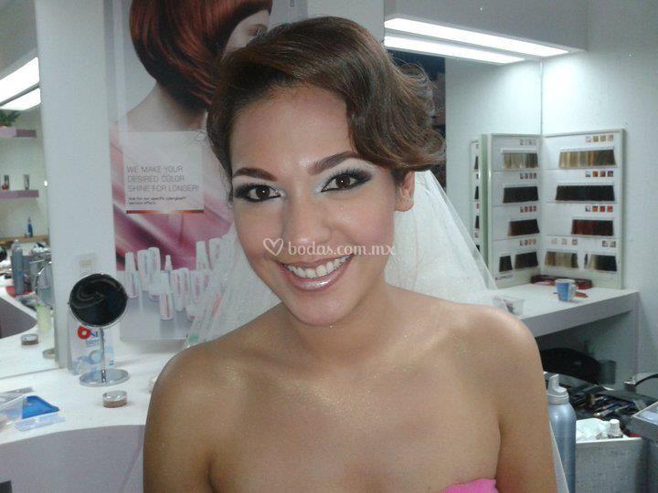 Maquillaje para boda de día