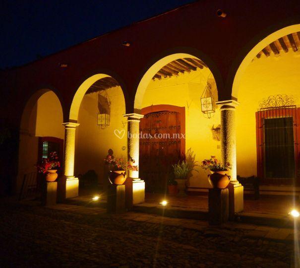 Galeria Arquitectonica: Iluminacion Arquitectónica De Hacienda Santa Lucía