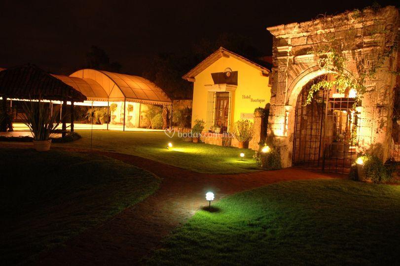 Hacienda noche