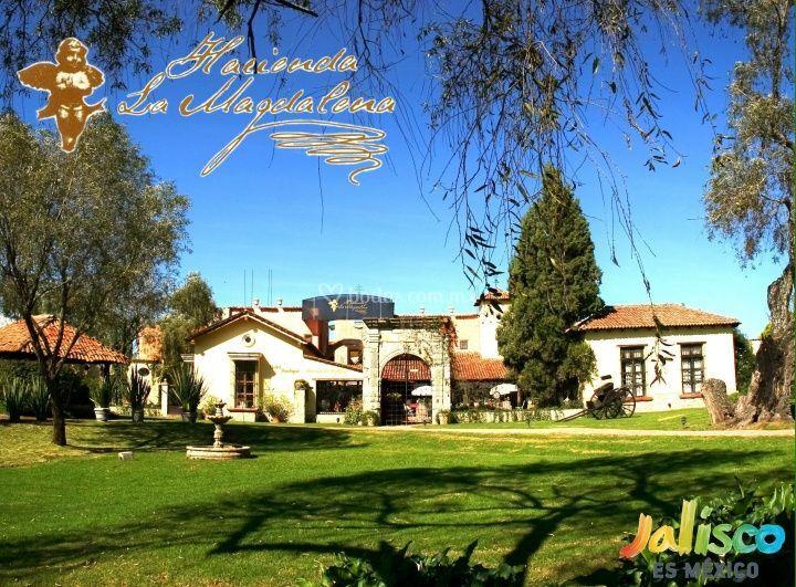 Fachada hacienda de Hacienda La Magdalena