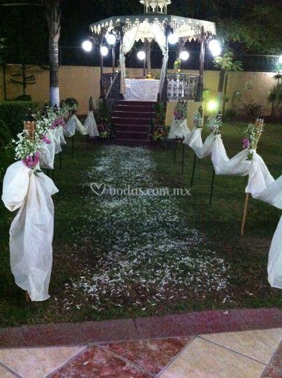 Hermosa boda maya
