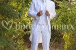 Jaquet lino blanco