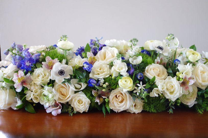 Jardinera de flores