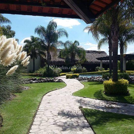 Salones - jardín