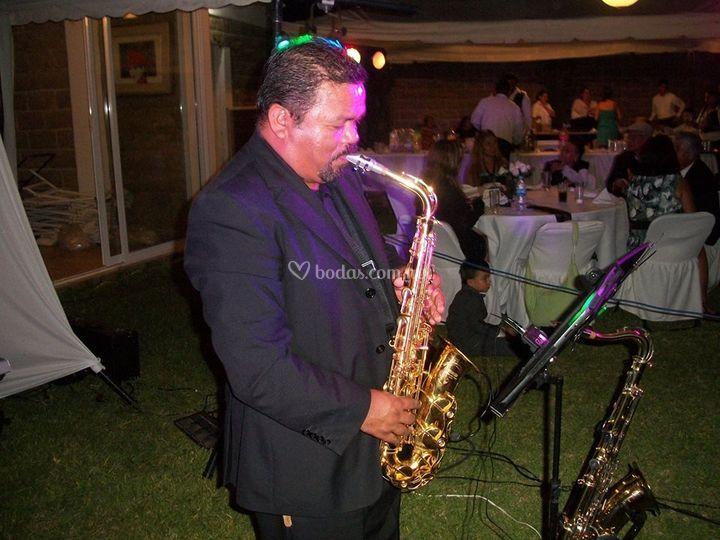 Saxofonista profesional