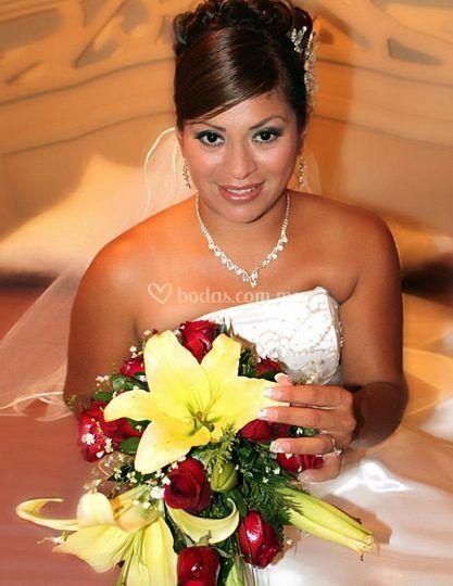 Vista de la novia