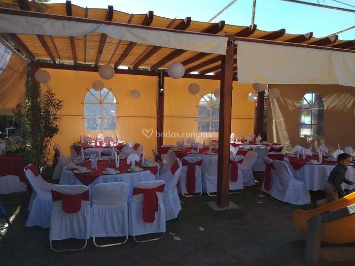 Jardín boda civil