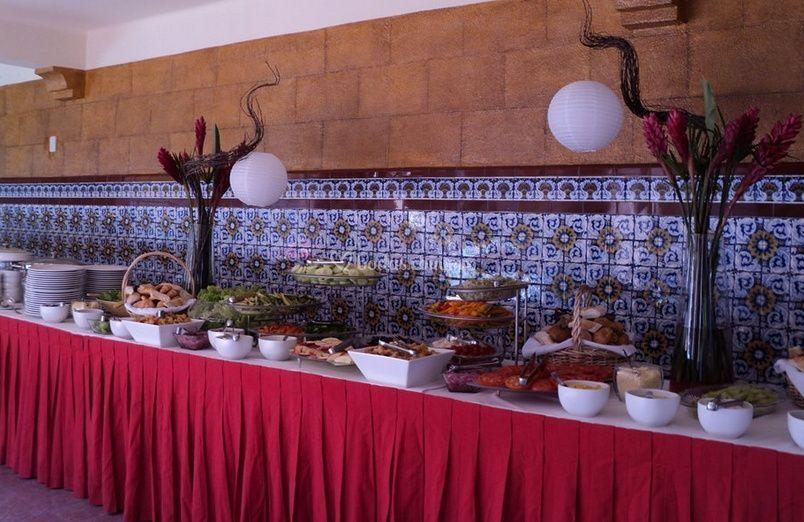 Mesa del buffet