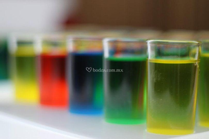 Shots colores