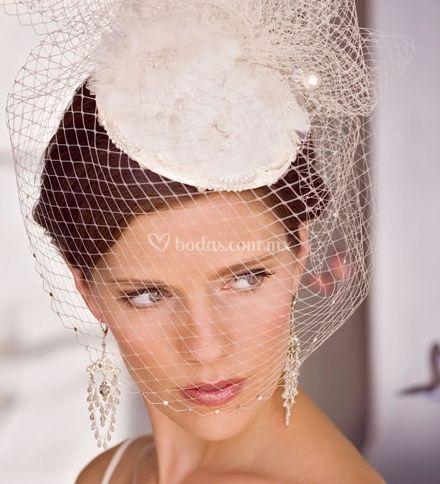 Sombrero con malla