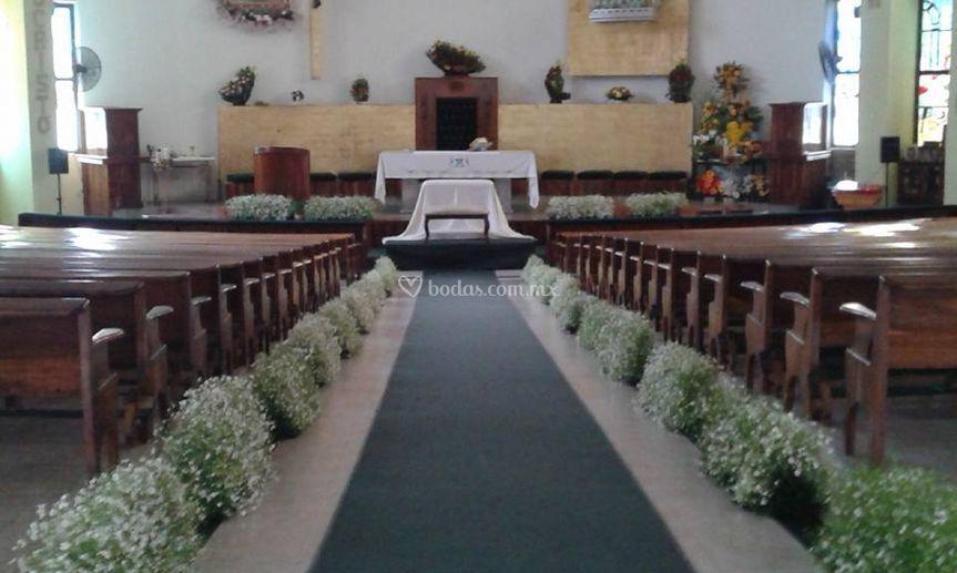 Jardineras de iglesia