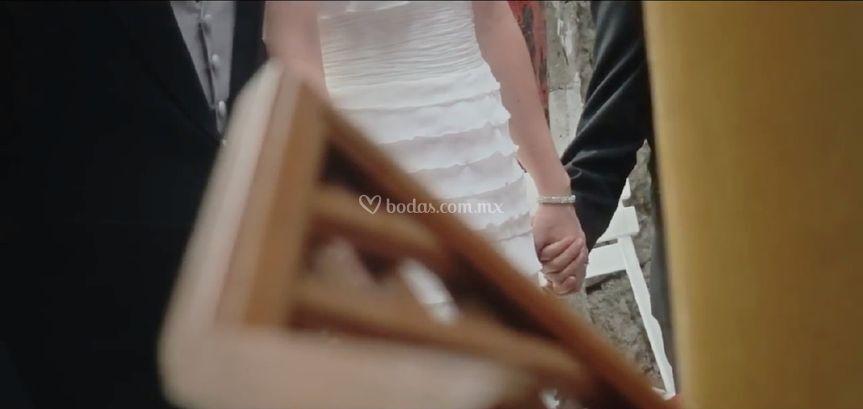 Cobertura de boda en video
