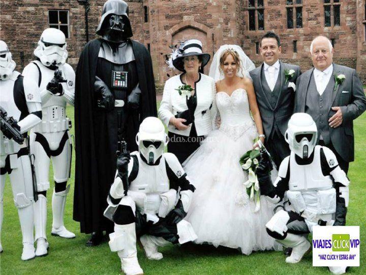 Una boda temática