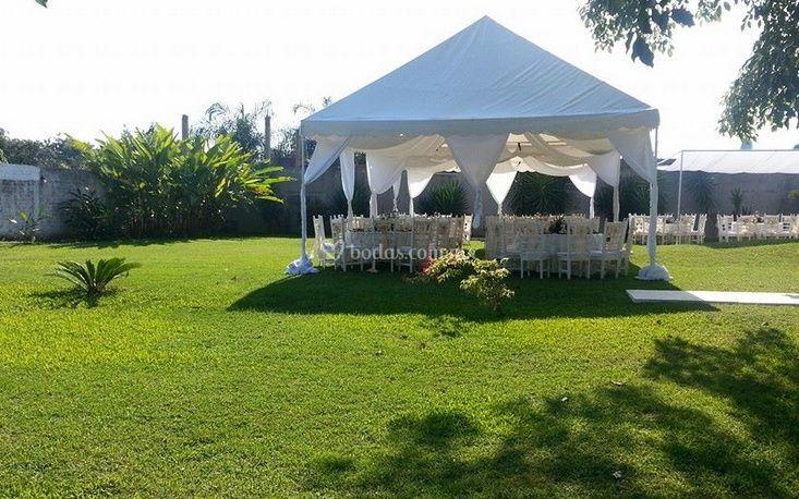 Jardín evento