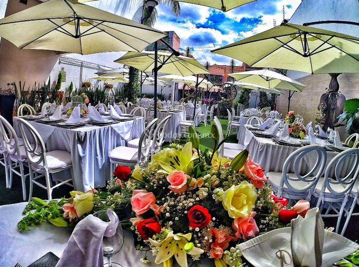 mesa de novios de jard n terrazas lindavista foto 30