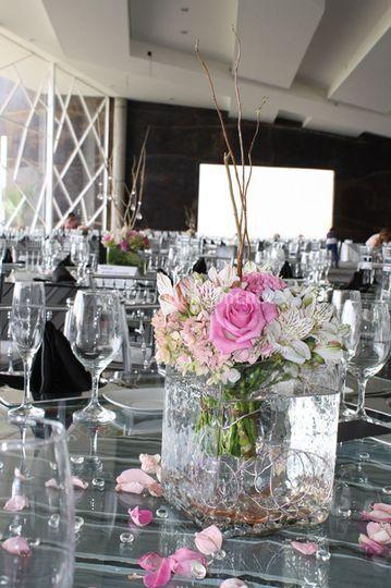 Centro mesa moderno