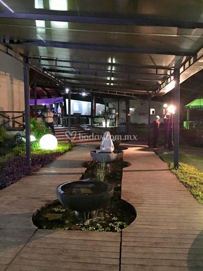 Entrada principal de villa xavier foto 1 for Villas xavier morelos