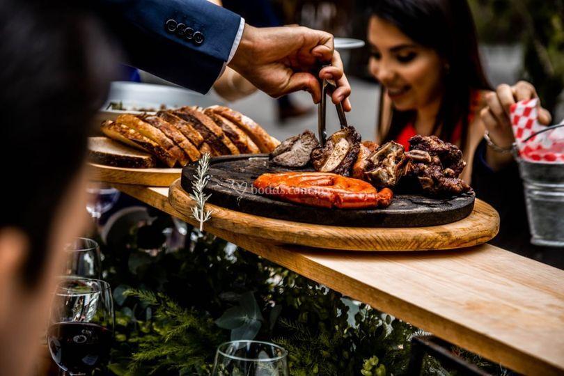 Family style carne asada