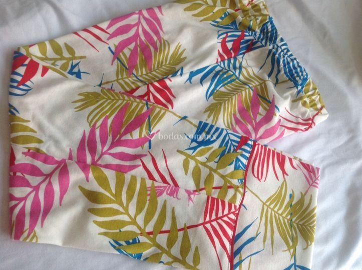 Pijama hojas