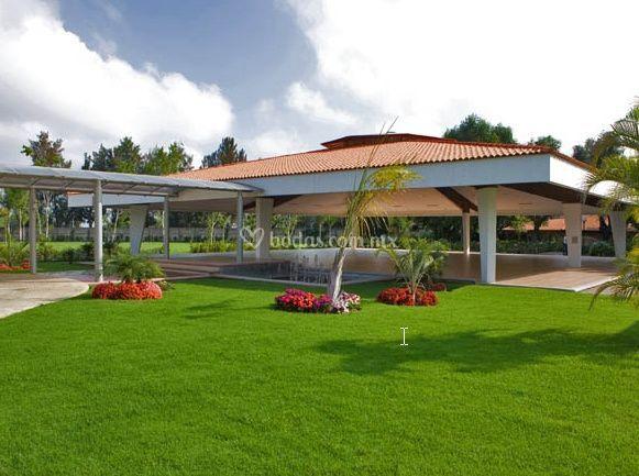 Florida eventos for Jardines pequenos para eventos df