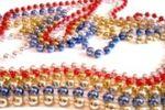 Collar de bolitas de colores de Party Carnival
