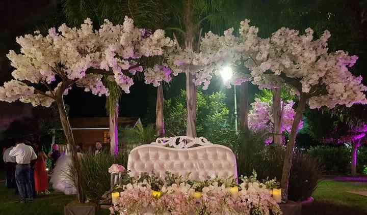 Mesa orquídea rosa